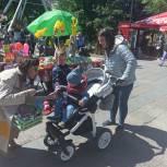 Тюменские единороссы провели праздник для детей