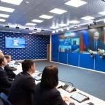 Президент страны провел онлайн-встречу с общественниками – победителями предварительного голосования