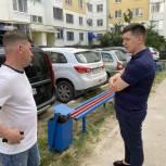 Депутат помог благоустроить контейнерную площадку в Ленинском районе