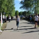 Молодогвардейцы провели забег для костромских студентов