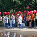 Мысковские единороссы поздравили врачей с Днем медика