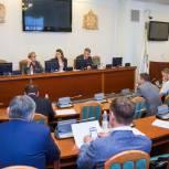 «Единая Россия» обсудила предложения в предвыборную Программу партии по развитию региональной инфраструктуры
