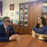 Владимир Вшивцев посетил Тучковский филиал Московского политехнического университета