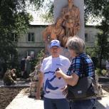 В Балаково Саратовской области благоустроили памятник Борцам революции