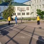 В Грозном прошел региональный этап Всероссийского фестиваля дворового баскетбола 3х3