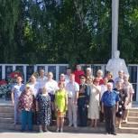 В Шумерле отдали дань памяти павшим на полях сражений Великой Отечественной войны