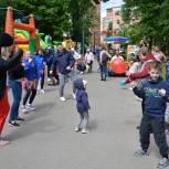 Более 120 семей района Филевский парк приняли участие в праздничном мероприятии в честь Дня защиты детей