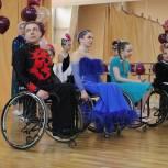 В Тамбове прошел отчетный концерт спортсменов в направлении «танцы на колясках»