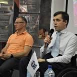 Михаил Терентьев встретился с жителями Серпухова