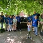 В День эколога активисты «Единой России» провели экологический субботник