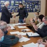 Александр Легков встретился с советом ветеранов Пересвета