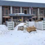 В Мещовском районе начался капремонт сельского Дома культуры