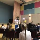 Михаил Диктованный провел «Урок доброты» в Барвихинской школе