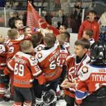 Юношеская команда «Святогор» вновь завоевала хоккейный кубок «Северный лед»