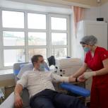 Доноры Москвы сдали кровь в НИИ им. Н. В. Склифосовского