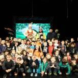 «Единая Россия» провела благотворительную акцию «Добрый театр» в Грозном