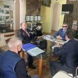 Владимир Вшивцев обсудил план мероприятий с ветеранами боевых действий Одинцовского городского округа