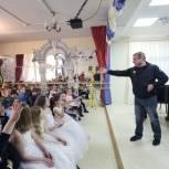 Максим Сураев встретился с воспитанниками балашихинской детской школы искусств № 4