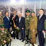 При поддержке тюменских депутатов-единороссов открыта историческая диорама «Афганский блиндаж»