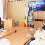 Татьяна Панфилова с рабочим визитом посетила Сасовский район