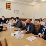 Депутаты Брянского горсовета обсудили вопросы благоустройства Володарского района в 2021 году
