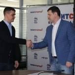 В региональном исполнительном комитете приняли документы для участия в предварительном голосовании от Александра Горобца