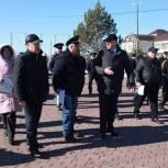 Тюменцев призывают проголосовать за проект благоустройства сквера Пограничников