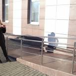 Активисты партпроекта «Единая страна – доступная среда» проверили наличие пандусов в северной части Луховиц