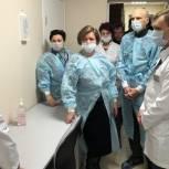 Лариса Лазутина и Дмитрий Голубков проверили качество ремонта в центральной больнице Звенигорода