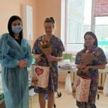 Регина Юдина поздравила с наступающим Международным женским днем молодых мам из Вольска