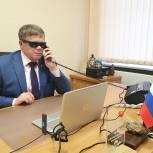 Владимир Вшивцев решил вопрос по расчистке дороги в Рузском округе и оказал материальную помощь жителям
