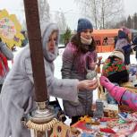 Черноголовские единороссы приняли участие в организации и проведении Масленицы