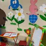 В Саратове продолжают обустраивать детские уголки в поликлиниках