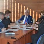 Реализацию партийного проекта «Историческая память» обсудили в одинцовском штабе «Единой России»