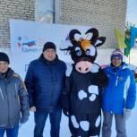 """В Бийском районе провели """"Лыжню здоровья"""" для самых маленьких лыжников"""