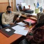 Александр Легков возобновил приемы жителей в очном формате