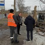 После обращения в приемную депутата на улице Лодочная почистят водоотводную канаву
