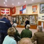 Елена Серова встретилась с ветеранами Коломны в Музее боевой славы