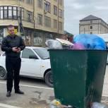 Аделя Татарко выехала по вопросу состояния мусорной площадки в Махачкале