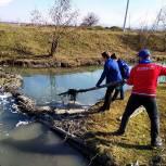 «Единая Россия» организовала в Чечне субботники по очистке берегов рек и озер от бытового мусора