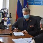 Николай Черкасов провел прием жителей
