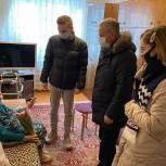 Егорьевские единороссы поздравили женщин-ветеранов с 8 марта