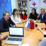 Валерий Лидин поздравил волонтеров с годовщиной акции «Мы вместе»