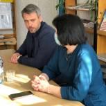 Виктор Остренко обсудил с заведующими библиотек Красногородского района развитие современных форм обслуживания читателей