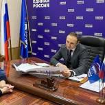 Антон Басанский обсудил с избирателями программу благоустройства