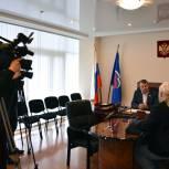 Валерий Скруг провел приём граждан в рамках региональной недели