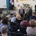 Панков обсудили с преподавателями Озинского района пути развития лицеев и техникумов