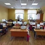 Рязанские молодогвардейцы организовали мастер-класс по рисованию