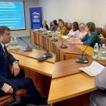 Секретарь Раменского отделения партии «Единая Россия» Юрий Ермаков посетил Раменский колледж
