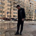 Единороссы Лобни проверили состояние городских пешеходных переходов